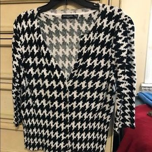 Sweaters - Houndstooth sweater